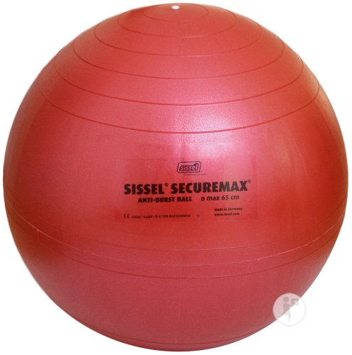 Sissel Ball Securemax Ballon Diamètre 55cm Rouge 1 Pièce