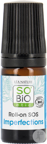 So'Bio Étic Roll-On SOS Imperfections Arbre À Thé Flacon 5ml