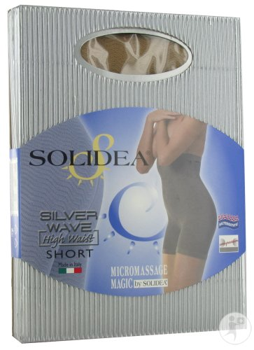 Solidea Cellulite Control Silver Wave High Waist Short Noisette 2-Medium 1 Paire