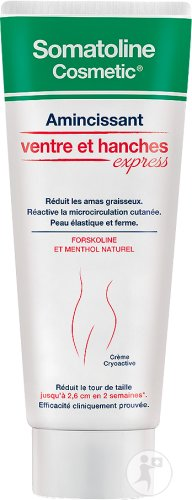 Somatoline Cosmetic Amincissant Ventre Et Hanches Express Tube 250ml