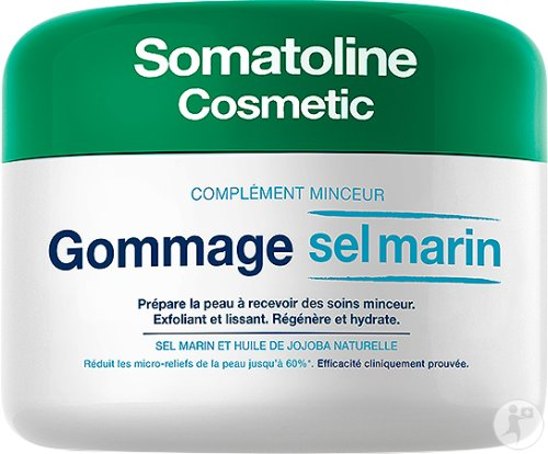 Somatoline Cosmetic Complément Minceur Gommage Corps Sel Marin 350g