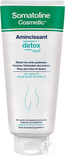 Somatoline Cosmetic Detox Amincissant Nuit Tube 400ml