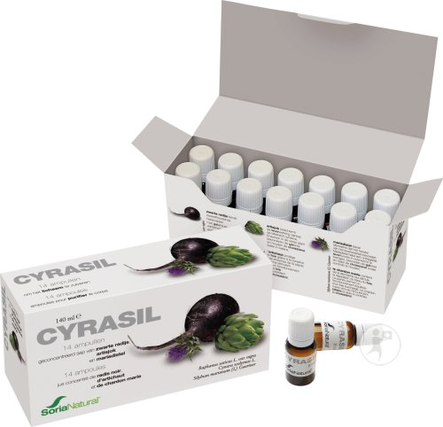 Soria Natural Cyrasil Vials 14x10ml (6271)