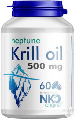 Soria Natural Huile Neptune Krill Gélules 60x500mg