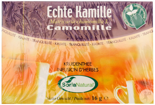 Soria Natural Infusion D'Herbes Camomille 20 Sachets