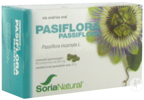 Soria Natural Soricapsule Single N28-S Passiflora Incarnata 60 Capsules