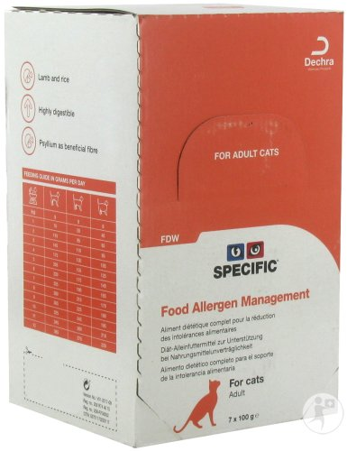 Specific FDW Food Allergy Management Adult Chat 7x100g