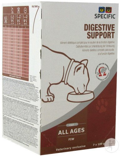 Specific FIW Digestive Support Chat 7x100g