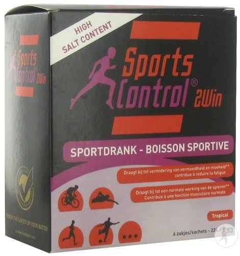 Sportscontrol 2win Tropical     Pdr  Sach 6x37,75g