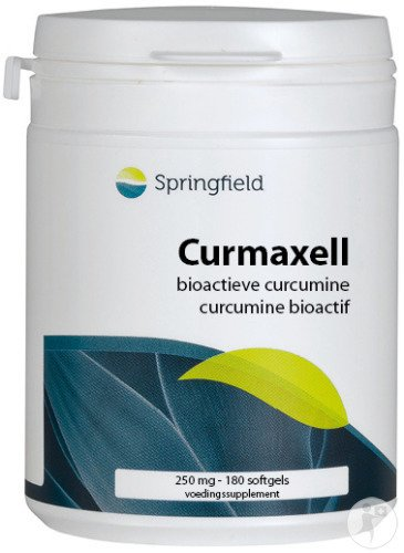 Springfield Curmaxell 250mg Gélules Molles 180