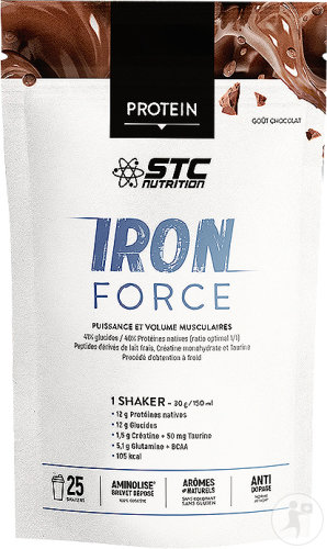 STC Nutrition Iron Force Chocolat 750g