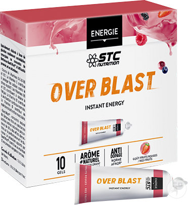 STC Nutrition Over Blast Instant Energy Fruits Rouges Doses 10x25g