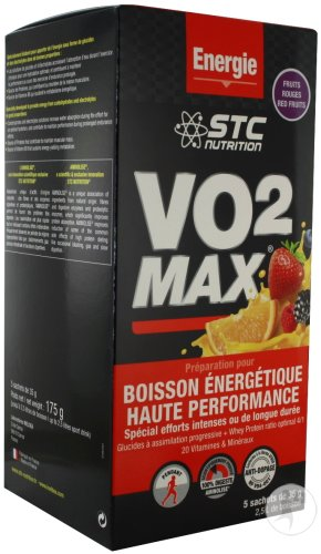 STC Nutrition VO2 Max Fruits Rouges 5x35g