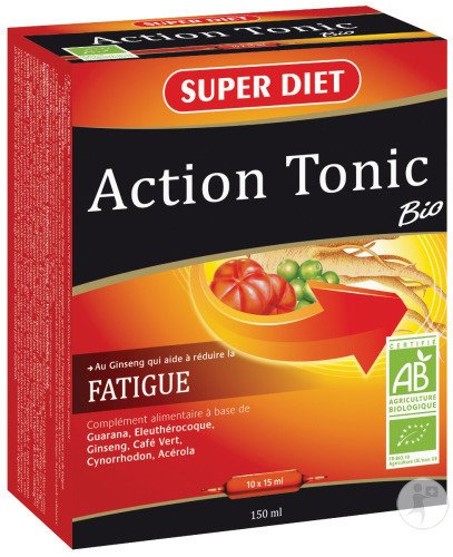 Super Diet Action Tonic Bio Ampoules 10x15ml