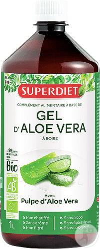 Super Diet Gel D'Aloe Vera Bio 1L
