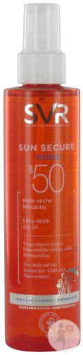 SVR Sun Secure Huile Sèche IP50 Spray 200ml