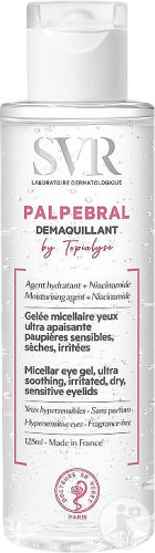 SVR Topialyse Palpebral Démaquillant Yeux Flacon 125ml