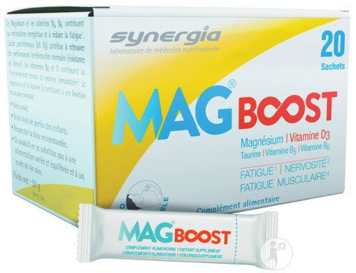 Synergia MagBoost 20 Sachets Orodispersibles