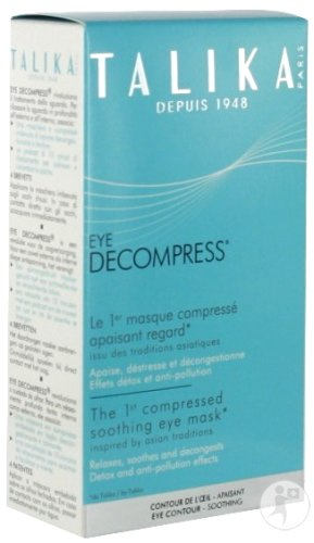 Talika Eye Decompress Masque Compressé Apaisant Regard 6 Pièces