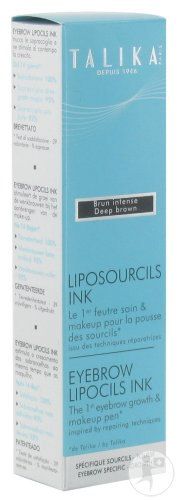 Talika Liposourcils Ink Feutre Soin Et Makeup Sourcils Brun Intense 1 Applicateur