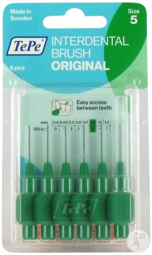 Tepe Interdental Brush 0,8mm Green 6