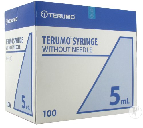 Terumo Seringue Luer Sliptip 5ml 100