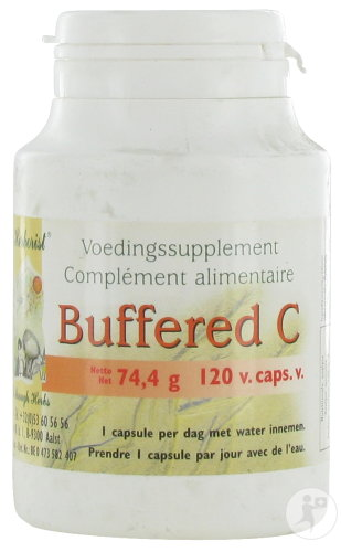 The Herborist Buffered C Système Immunitaire 120 Capsules (0710)