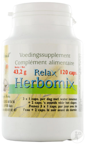 The Herborist Relax Herbomix Effet Reposant 120 Capsules (0745a)