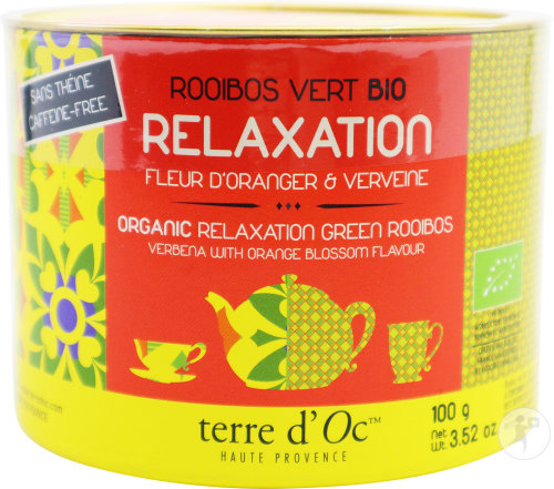 Thé Vert Rooibos - Relaxation 100g