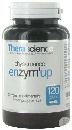 Therascience Physiomance Enzym Up 120 Gélules
