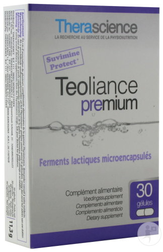 Therascience Physiomance Teoliance Premium 10 Milliards 30 Gélules PHY253