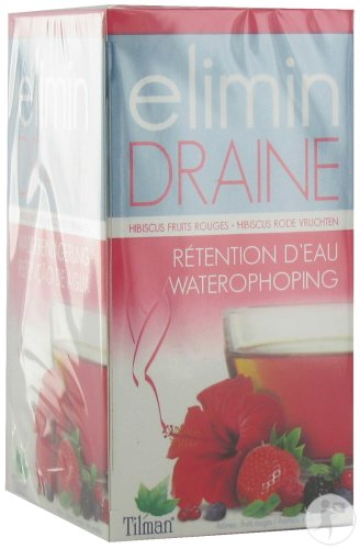 Tilman Elimin Draine Fruits Rouges 20 Sachets