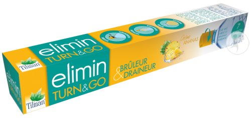 Tilman Elimin Turn And Go Ananas Boîte 7 Bouchons Universels