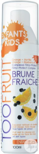 Too Fruit Brume Fraîche Orange Et Myrtille Tous Types De Peaux Enfants Spray 100ml