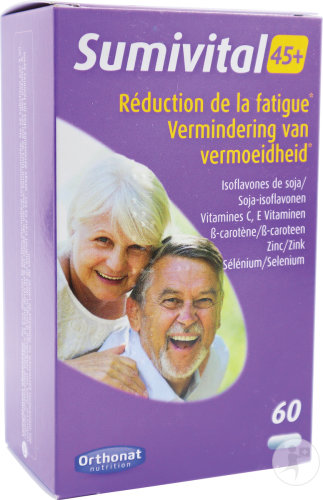 Trenker Sumivital 45+ Réduction De La Fatigue 60 Gélules