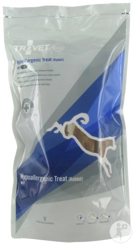 Trovet Hrt Hypoallerg.treat Rabbit Ear Dog100g Vmd