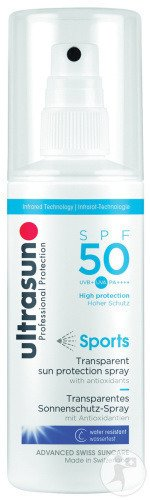 Ultrasun Sports IP50 Spray 150ml