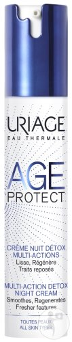 Uriage Age Protect Crème Nuit Détox Multi-Actions Flacon Airless 40ml