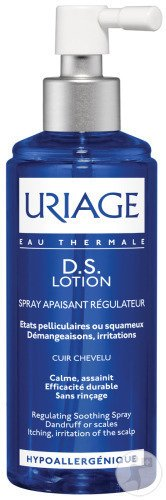 Uriage D.S. Lotion Spray Apaisant Régulateur Flacon Pompe 100ml Nouvelle Formule