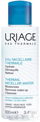Uriage Eau Micellaire Thermale Lotion Peaux Normales Flacon 100ml