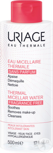 Uriage Eau Micellaire Thermale Peaux Intolérantes 500ml