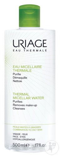 Uriage Eau Micellaire Thermale Peaux Mixtes A Grasses Duopack 2x500ml