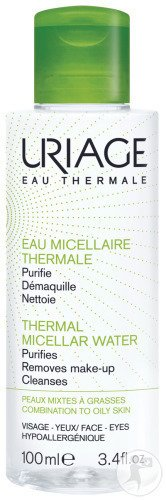 Uriage Eau Micellaire Thermale Peaux Mixtes A Grasses Flacon 100ml