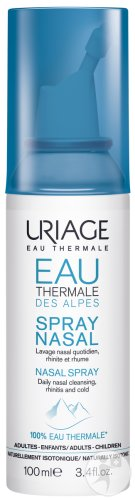 Uriage Eau Thermale Des Alpes Spray Nasal Adultes Et Enfants 100ml