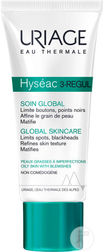 Uriage Hyséac 3-Regul Soin Global Peaux Grasses A Imperfections Tube 40ml