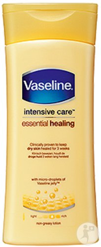 Vaseline Intensive Care Essential Healing Lotion Corporelle Peaux Sèches Et Sensibles 400ml