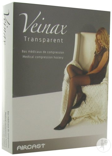 Veinax Transparent Collant Classe 2 Long Beige Taille 3 Paire 1