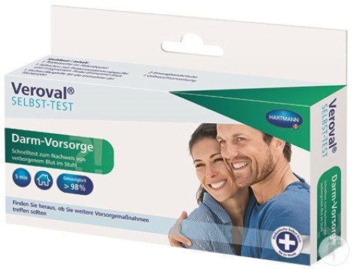 Veroval Autotest Dépistage Colorectal 1 Test