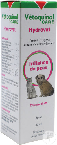 Vétoquinol Hydrovet Chien-Chat Spray 30ml