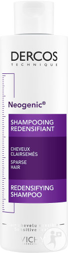 Vichy Dercos Neogenic Shampoing Redensifiant Cheveux Clairsemés Flacon 200ml